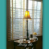 Wood Blinds with tape