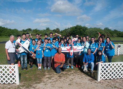 Students from the USA and Taiwan Launch Rockets