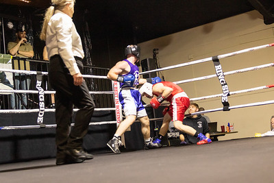 2019 White Collar Boxing Event - Bout 8