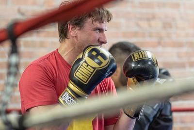 2019 White Collar Boxing Training