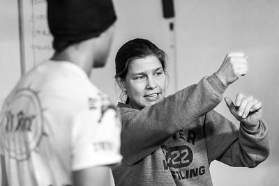 Briana Hendricks Che & Coach Andrea Nelson