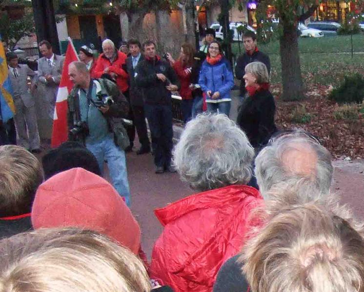 AMGA Guides Parad 11-14-2010 Boulder, Colorado