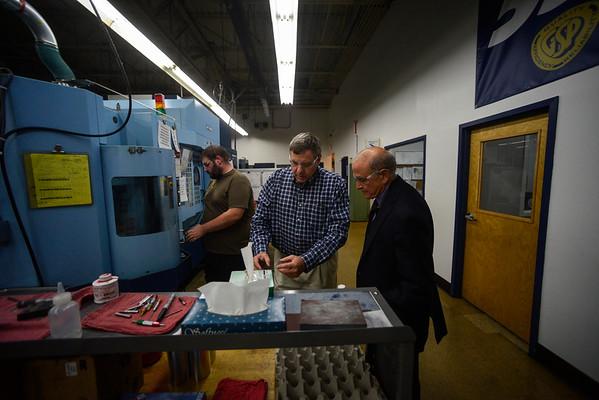 Bruce Lisman visits G.S. Precision