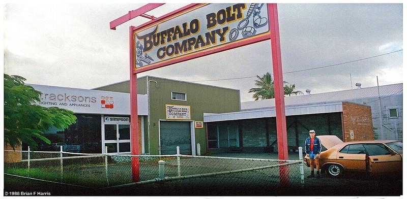 Kerry Eivers 'Buffalo Bolt Company' at 140 Wood Street in Mackay