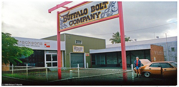 Kerry Eivers 'Buffalo Bolt Company' at 140 Wood Street in Mackay