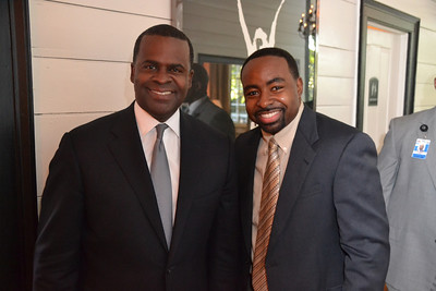 Kasim Reed (Atlanta's Mayor)  and Rodney Adams of RodneyAdams.com