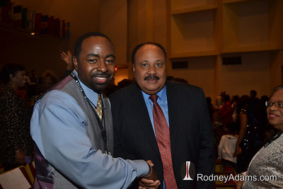 Rodney Adams & Martin Luther King III