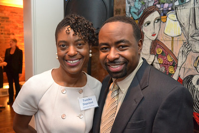 "Tomika Depriest ""EXECUTIVE"" Director of Spelman College [Office of Communications] & Rodney Adams"