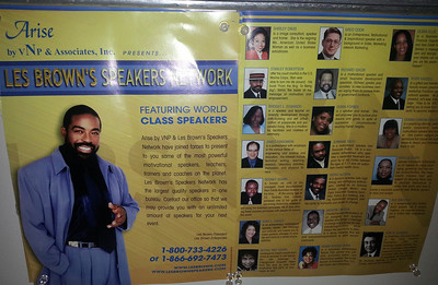 Working with one of the Greatest Motivational Speakers - LES BROWN ( A few years back!)
