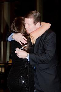 Matt Davoren thanking Melissa