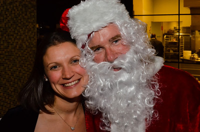 "Business Development Manager Allyson H, and CEO Jeff ""Santa"" Gravatte"