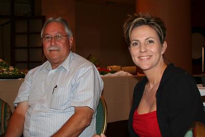 Floyd McDonald and Karen Fullner (L.A. County OAAC)