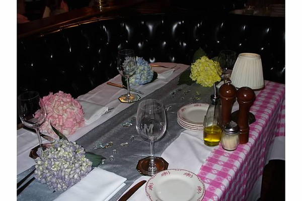 Intimate Birthday Party at Maggiano's<br /> Event Coordinated and photographed by CH Style LLC