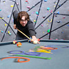 "Google Building003.JPG Program Manager Mason Thrall plays a game of pool in the Google break room on Tuesday, Feb. 7, at the Google building on Pearl Street in Boulder. For a video about the Google workplace environment go to  <a href=""http://www.dailycamera.com"">http://www.dailycamera.com</a><br /> Jeremy Papasso/ Camera"