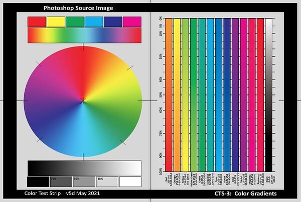 CTS-3 - Screen RGB Colors
