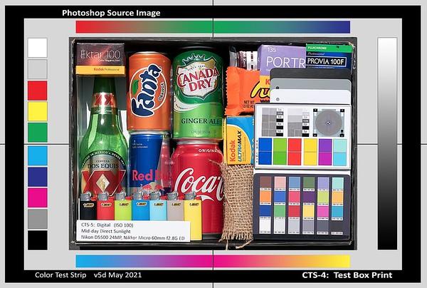 CTS-4 - Screen RGB Colors
