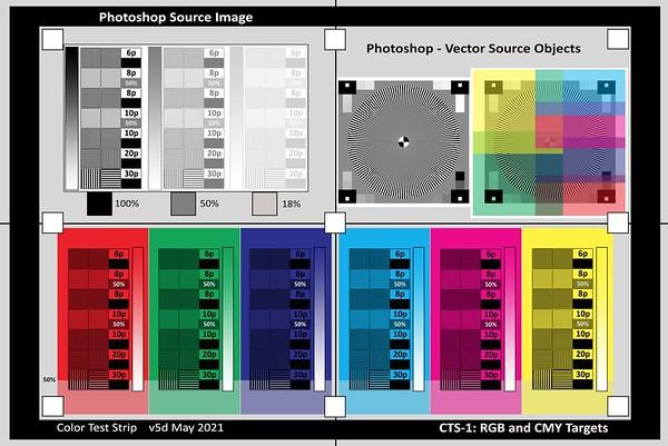 CTS-1 - Screen RGB Colors
