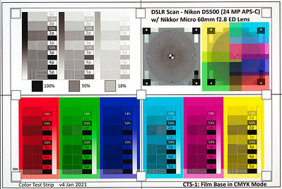 CTS-1 - DSLR Scan in RGB colors