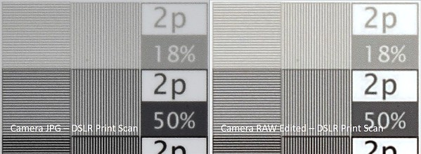 JPG vs RAW - DSLR Print Scan BW 3b