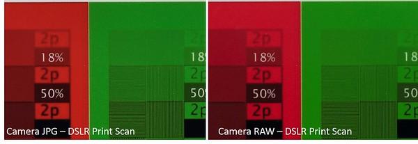 JPG vs RAW - DSLR Print Scan Full 5