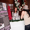 The Carie Brescia make-up event gave complimentary applications throughout the day on New Year's Eve.<br /> Carie Brescia makeup event<br /> Bernard's Salon and Spa in Cherry Hill, New Jersey