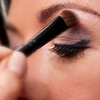 eye make-up final touches<br /> Carie Brescia makeup event<br /> Bernard's Salon and Spa in Cherry Hill, New Jersey