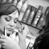 eye makeup applied by talented artists <br /> Carie Brescia makeup event<br /> Bernard's Salon and Spa in Cherry Hill, New Jersey