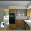 Kitchen looks good. We just need to do the tile work.