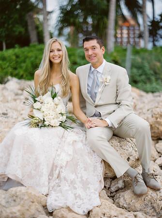 Chad + Erin | Four Seasons Wedding