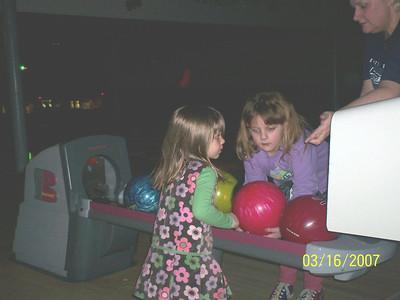 Bowling at Chalet Bowl '07