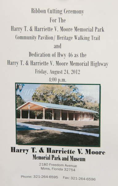 Harry T. and Harriette V. Moore Memorial Park Ribbon Cutting
