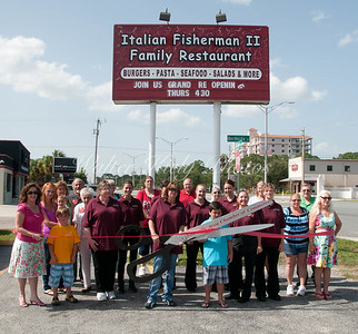 Italian Fisherman Ribbon Cutting