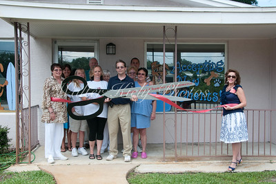Two Paws Up Ribbon Cutting