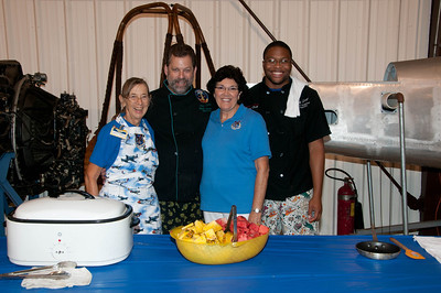 Chef Larry Warbird Museum Monthly Breakfast
