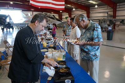 VAC Warbird Museum Monthly Fly-Inn with Chef Larry - July 2015