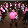 ChelseaTownsend (?), Durham Great Kid, with her Volleyball team