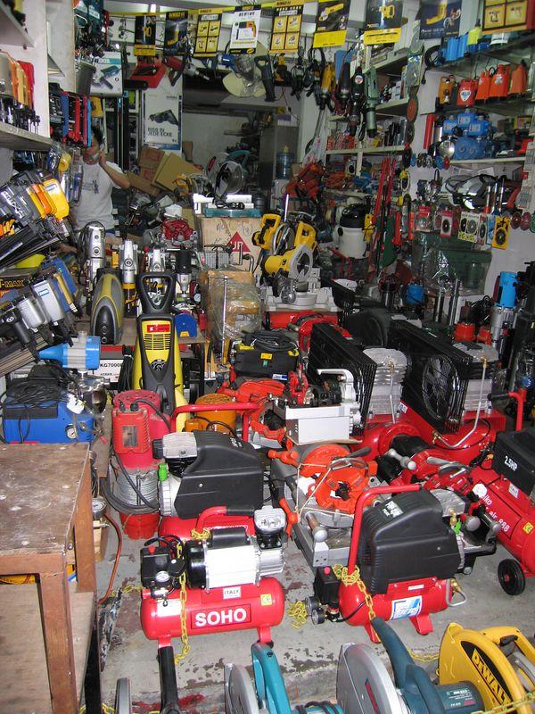 Sidewalk power tool store