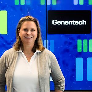 Christina at Genentech