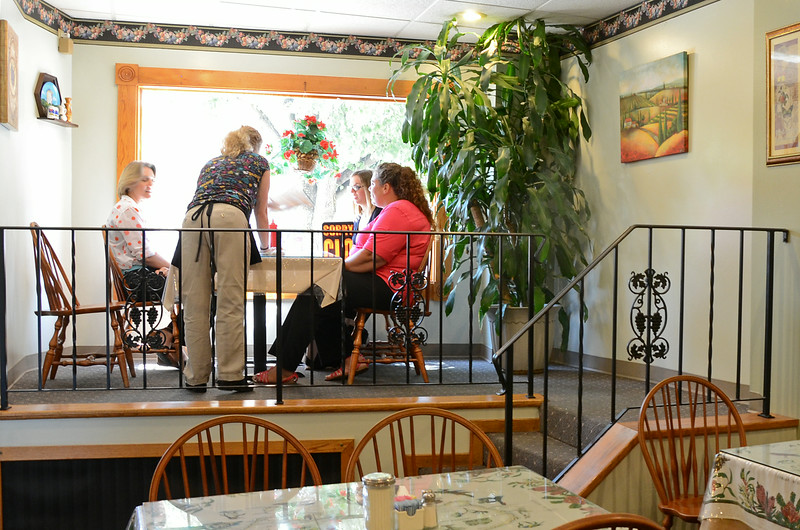 Customers arrive for lunch at City Hall Cafe, located at 695 Main Street in Fitchburg. The Cafe will soon be moving to 400 Summer Street, the former Mr. C's Cafe. SENTINEL & ENTERPRISE / Ashley Green
