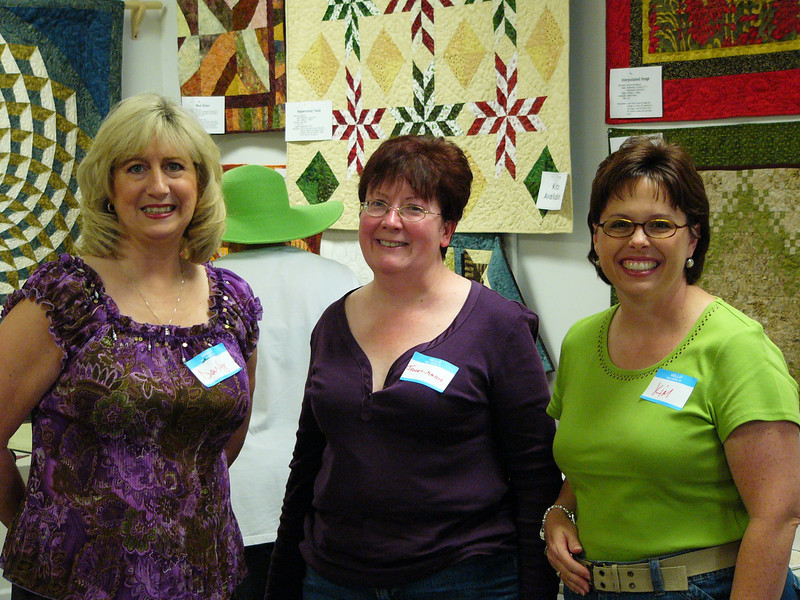 Three of our teachers: Darly, Janet-Marie and Kim.