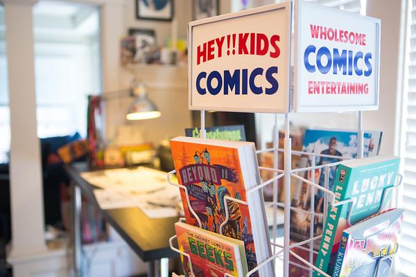 Classic Comic Book Spinner Rack