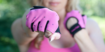 Femme Fitale workout gloves