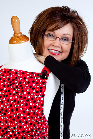 Cheryl Caudill, author of 3 Chiles and a Bean and creator of Tie One On designer aprons