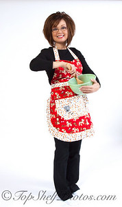 Cheryl Caudill, 3 Chiles and a Bean cookbook author and creator of Tie One On designer aprons