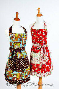 Product photography for Tie One One designer aprons