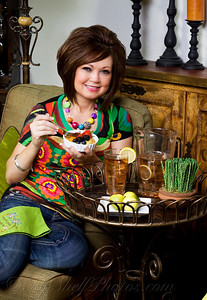 Cheryl Caudill, author of 3 Chiles and a Bean cookbook and creator of Tie One On designer aprons