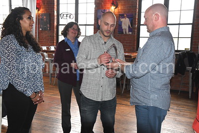 Community Foundation Award Presentation to the Witch Doctor Brewery