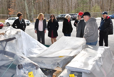Playscape Delivery to the Southington Rotary for use in Memorial Park - February 20, 2020