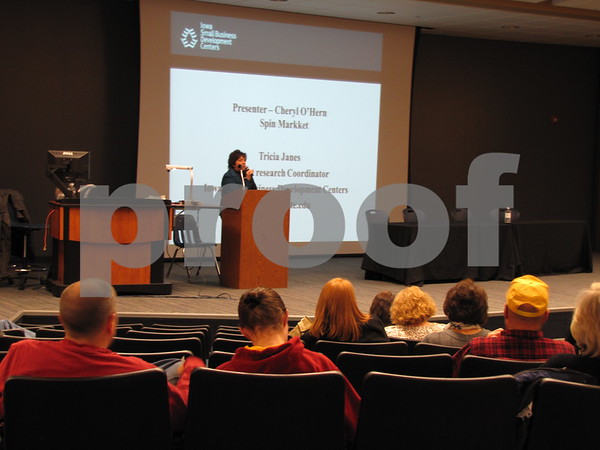 Cheryl O'Hern led a session at the Entrepreneur Expo.