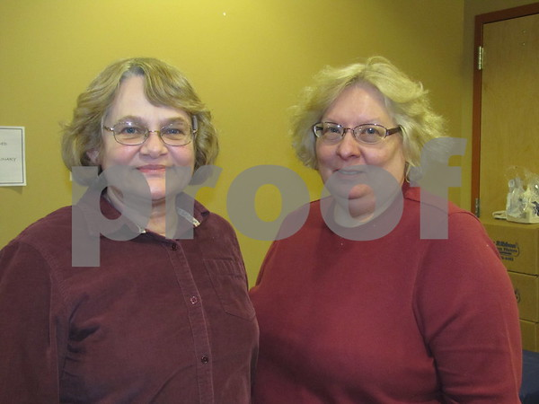 Terry Sponheimer and Kerry Brandt attended the Entrepreneur Expo.